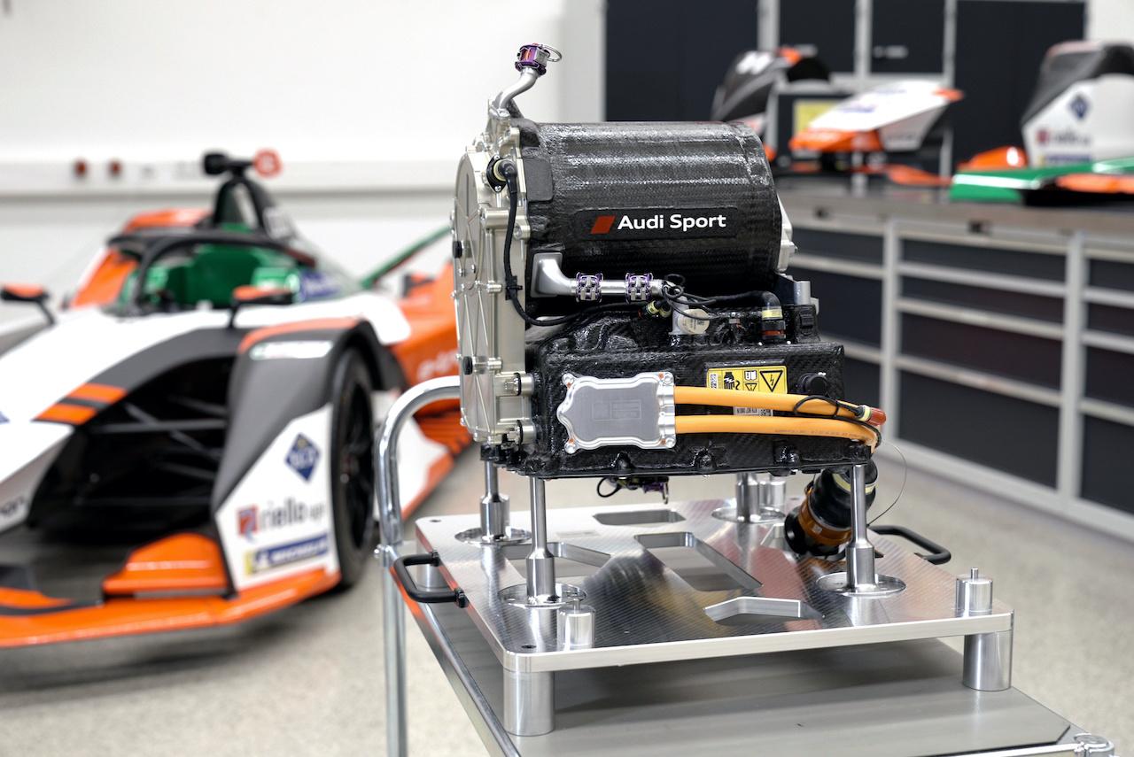 アウディ、自社開発の新型パワートレインを搭載した「e-tron FE07」をフォーミュラEに投入