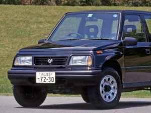 【昭和の名車 186】スズキ エスクードはオンロードも重視したライトクロカン4WD