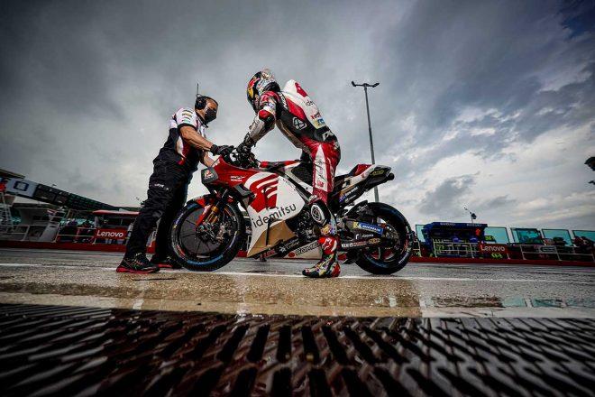 中上貴晶「今日は厳しい一日。まだまだ改善の余地がある」/MotoGP第14戦サンマリノGP初日