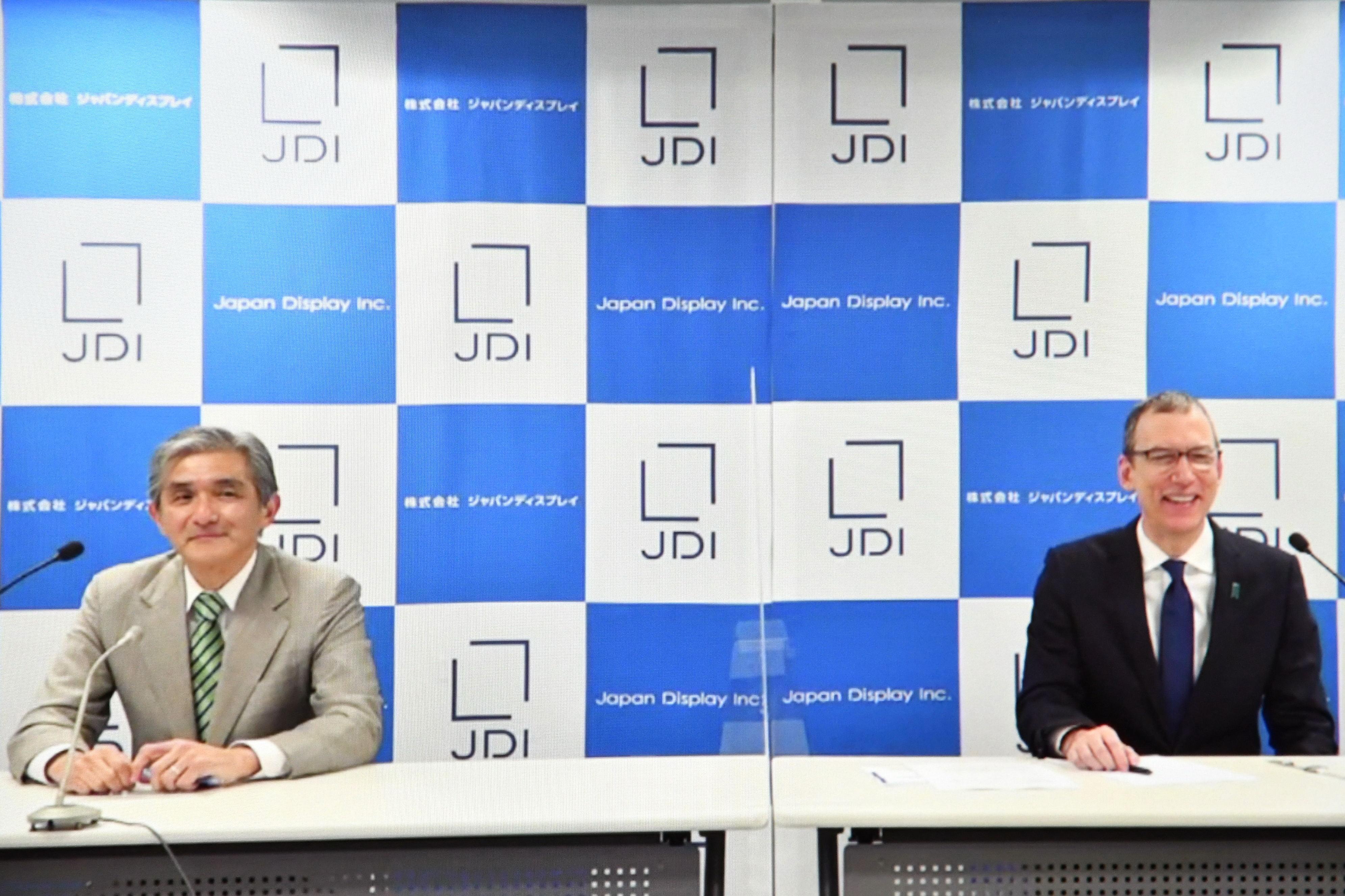 ジャパンディスプレイ、菊岡社長が退任 キャロン会長に決定機能一元化