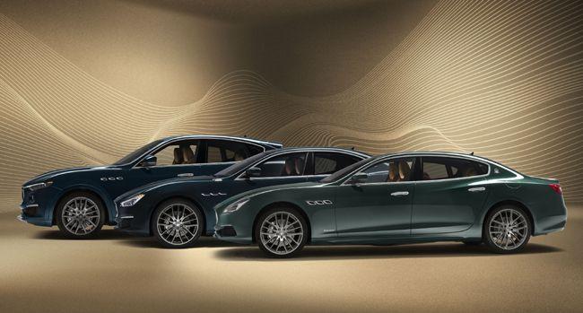 往年のマセラティのラグジュアリーモデル「クワトロポルテ ロイヤル」をオマージュした特別限定車「ロイヤル」エディションをクワトロポルテ/ギブリ/レヴァンテに設定