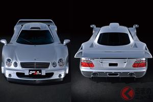 2億5000万円の合法ドラッグ! まんまレーシングカーのメルセデス・ベンツ「CLK-GTR」開発秘話