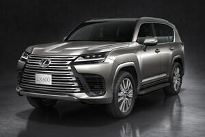 レクサスの頂点SUV「LX」発表! 兄弟車・新型ランクルとの違いはどこにある?