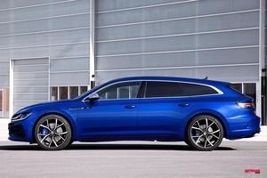 【「R」も登場】VWの新型ワゴン、アルテオン・シューティングブレーク 外観/内装/PHEV仕様は?