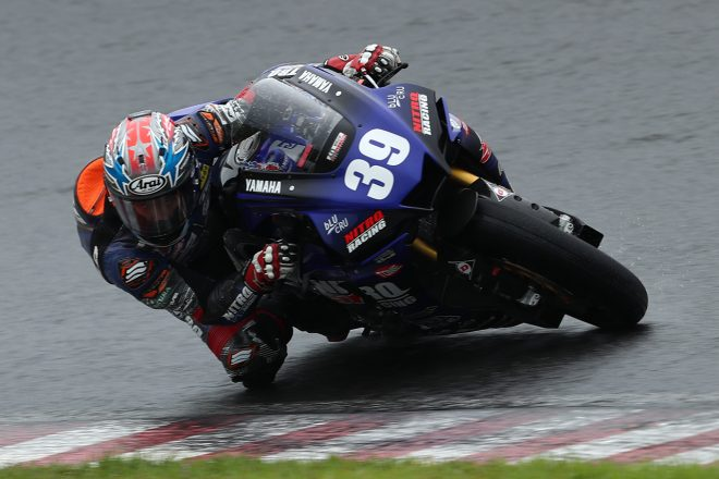 岡本裕生がダブルポール獲得。2番手は前田でヤマハが1-2/全日本ロード第4戦筑波 ST1000予選