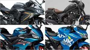 """2021新型バイク総まとめ:日本車126~250cc軽二輪クラス【ZX-25Rが牽引する""""身近な本格派""""市場】"""