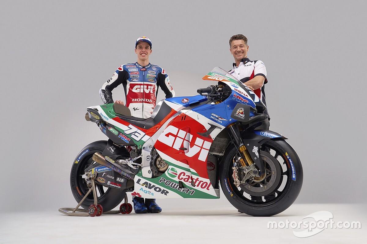 【MotoGP】LCRホンダ、新加入アレックス・マルケス用RC213Vを公開。フレッシュな青が目を引く新カラー