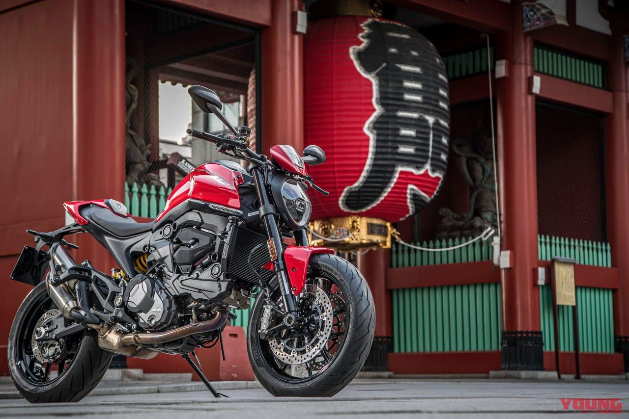 ついに日本上陸、ドゥカティの新生「モンスター」がネイキッドのデザインを革新する!
