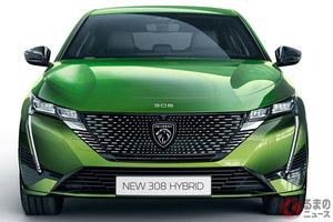 プジョー新型「308」世界初公開! プジョーの新エンブレム初採用