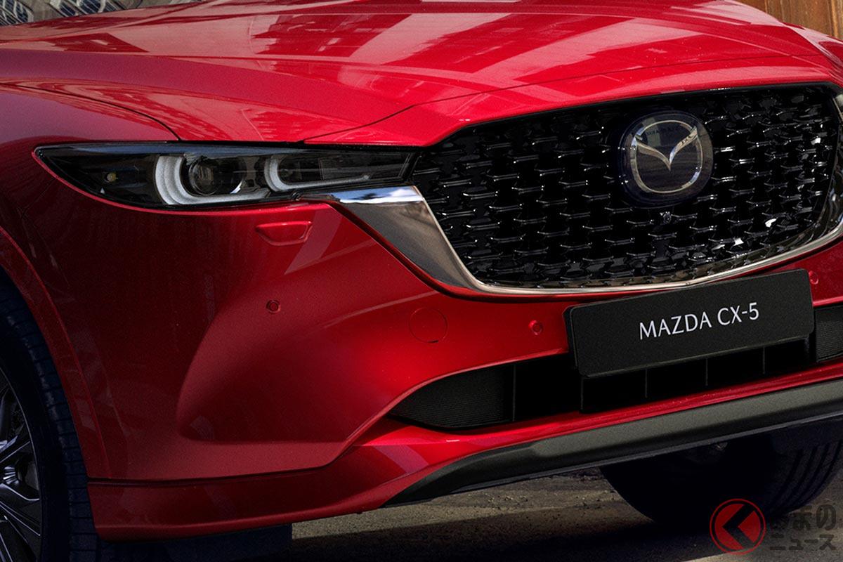 マツダ「CX-5」エレガントなデザインに刷新! 大幅改良モデルが米国で登場