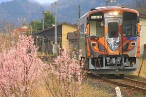 若桜鉄道「スズキ・隼」ラッピング列車 第3弾デザイン決定 4月29日にお披露目