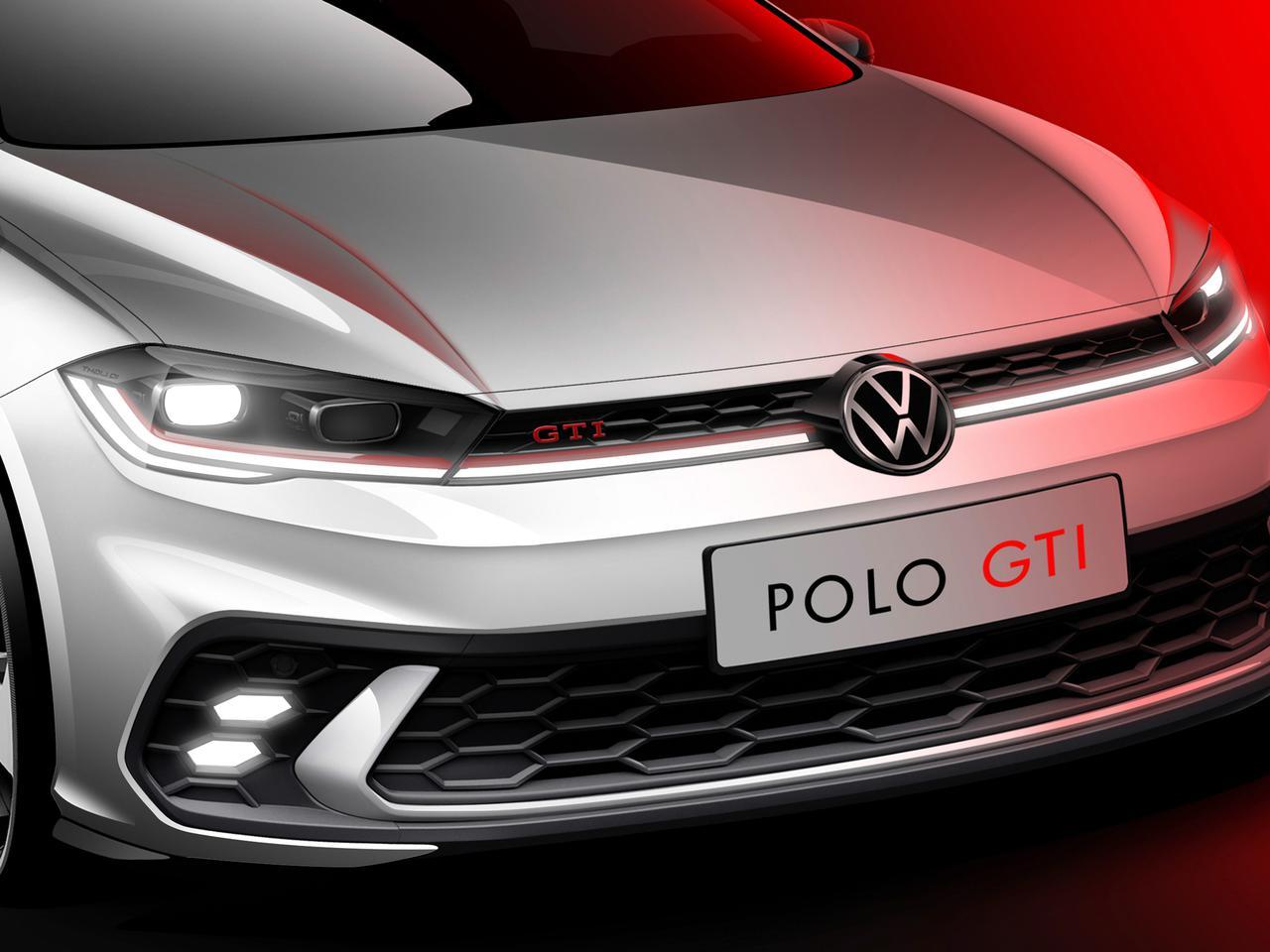 フォルクスワーゲンの新型ポロ GTI、日本導入はいつ? 精悍な顔つきになって6月下旬に世界初公開