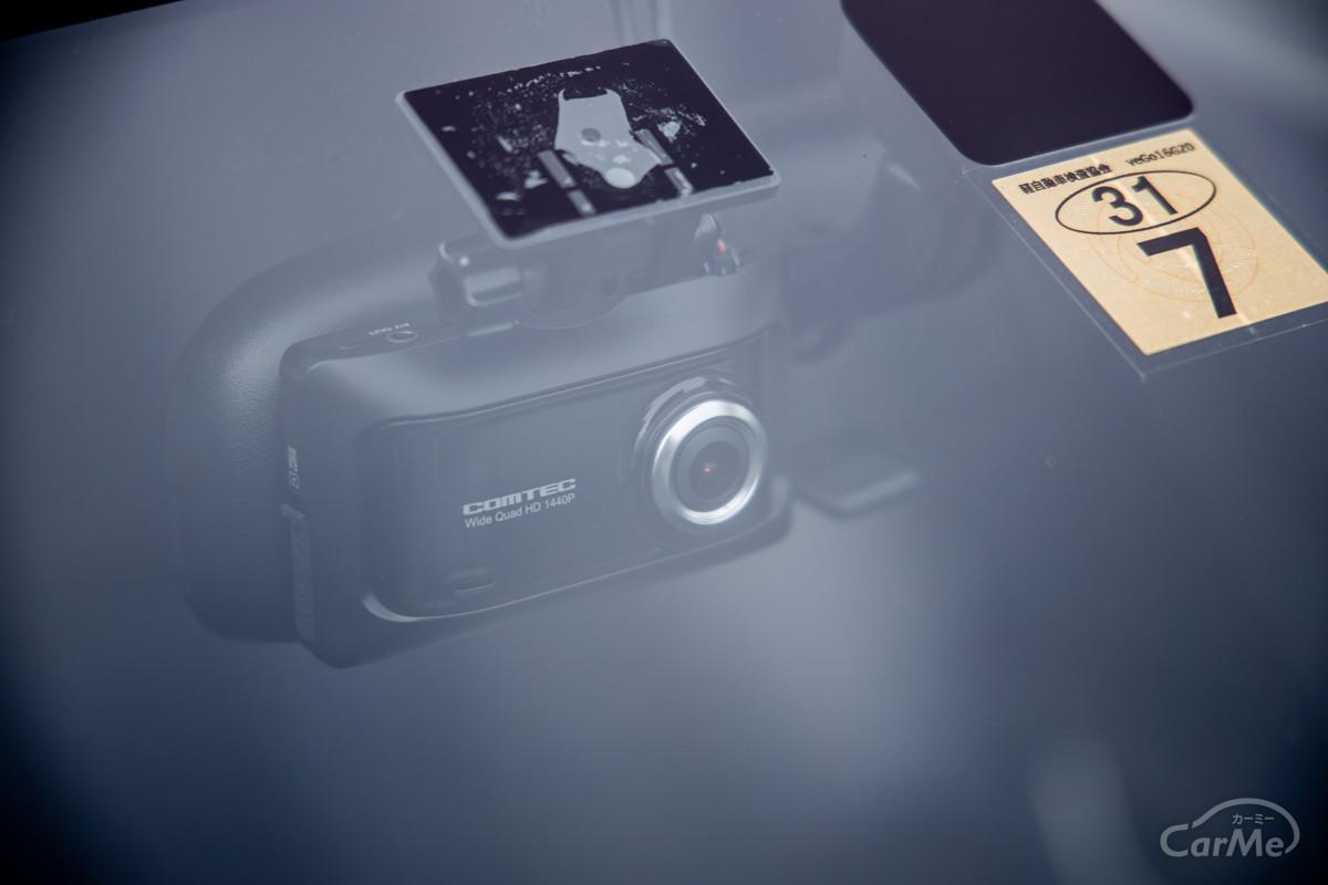 コンパクトさが魅力。フロント1カメラ型ドライブレコーダー10選