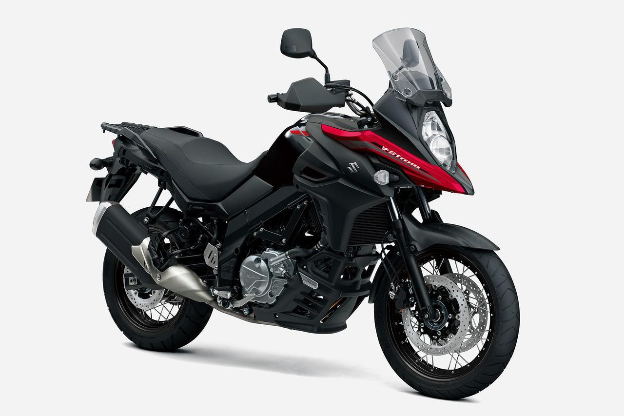 スズキ「Vストローム650 XT」【1分で読める 2021年に新車で購入可能なバイク紹介】