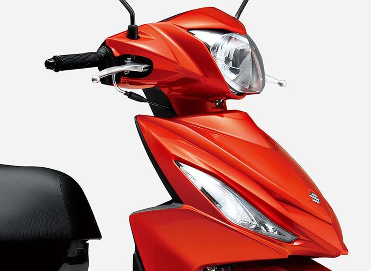 スズキが「アドレス110 スペシャルエディション」を発売! 定番の原付二種スクーターに特別色をまとった2モデルが追加