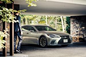 【極みのシルバー 新色の銀影ラスター】改良新型レクサスLS、発表 高度運転支援技術は2021年から