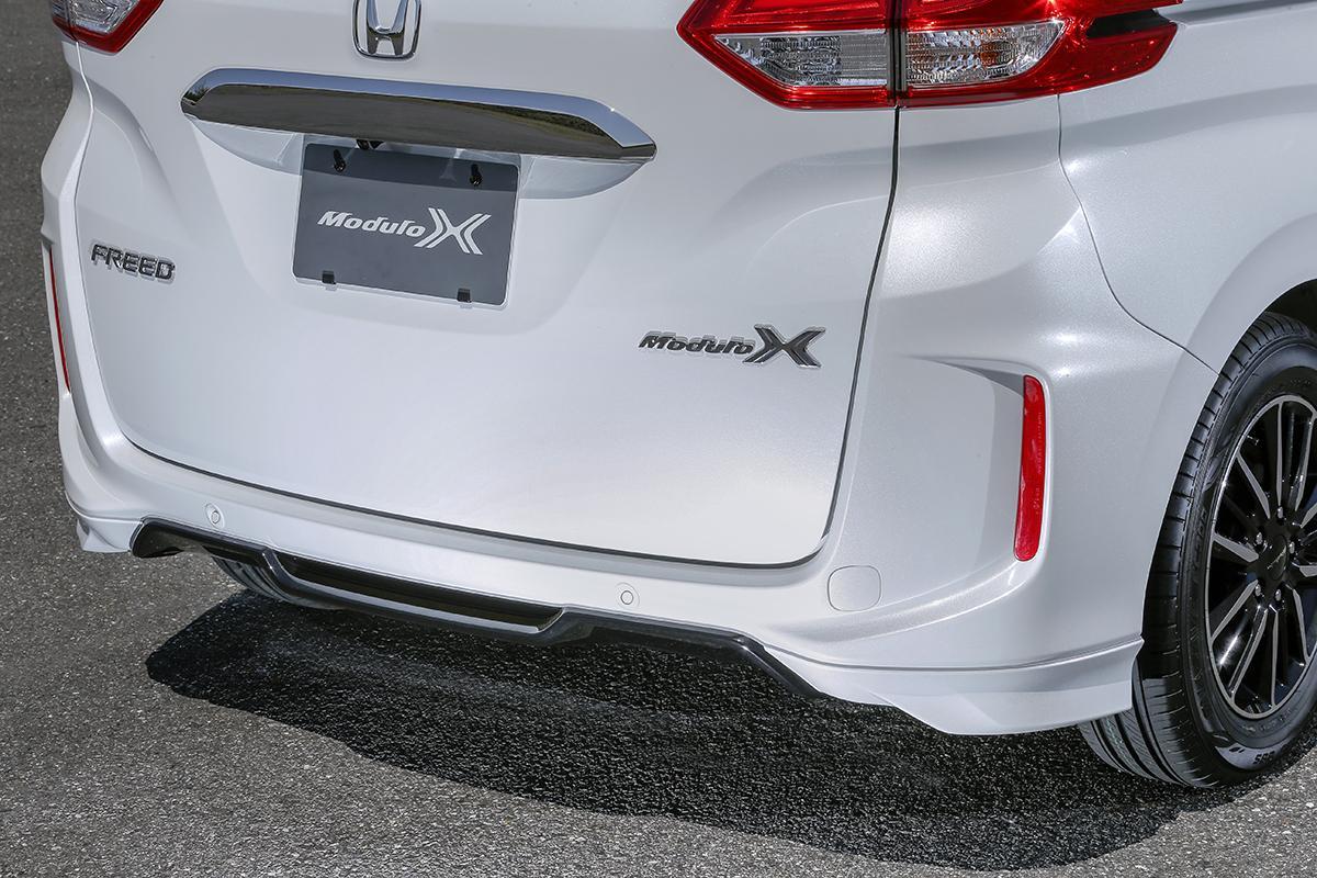 ホンダ・フリードモデューロXがマイナーチェンジ! 実効空力デバイス搭載で走りの質感を熟成