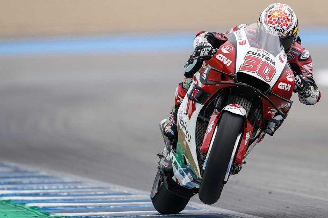 中上貴晶、新パーツのテストに満足「次のル・マンに向けて準備ができている」/MotoGPへレス公式テスト