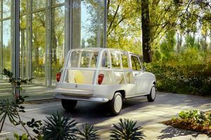 【走るスイートルーム】初代ルノー4 「ホテル」として復活 60周年記念ワンオフモデル