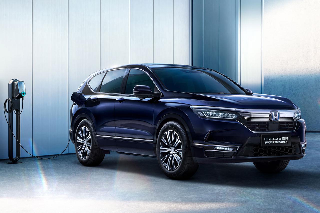 ホンダがCR-Vベースの「BREEZE PHEV」と、ピュアEVの「SUV e:prototype」を上海MSで世界初公開