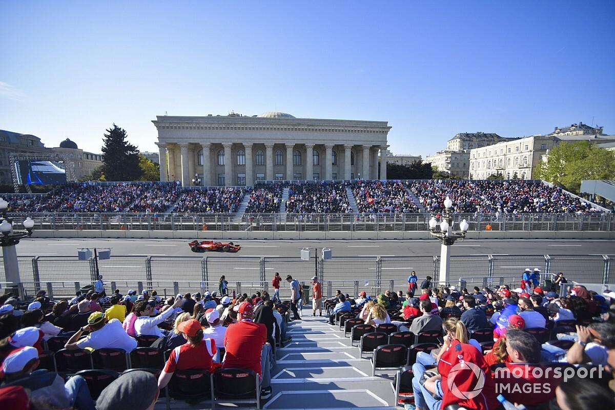 """バクー市街地サーキット、F1スプリントレース開催を""""大歓迎""""。エキサイティングなレースが見られる?"""
