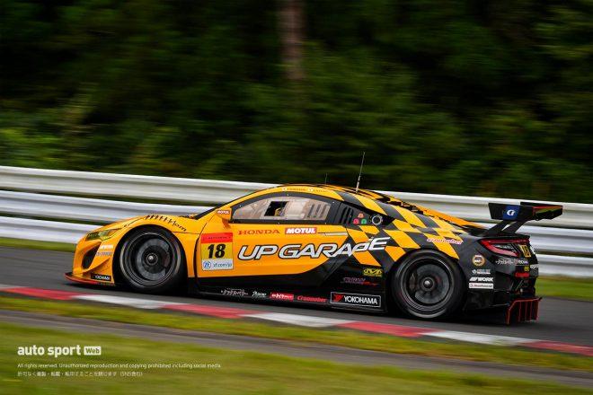 """""""8月の悪い流れ""""を速さで払拭。UPGARAGE NSX GT3の名取鉄平が予選2番手の活躍をみせる"""