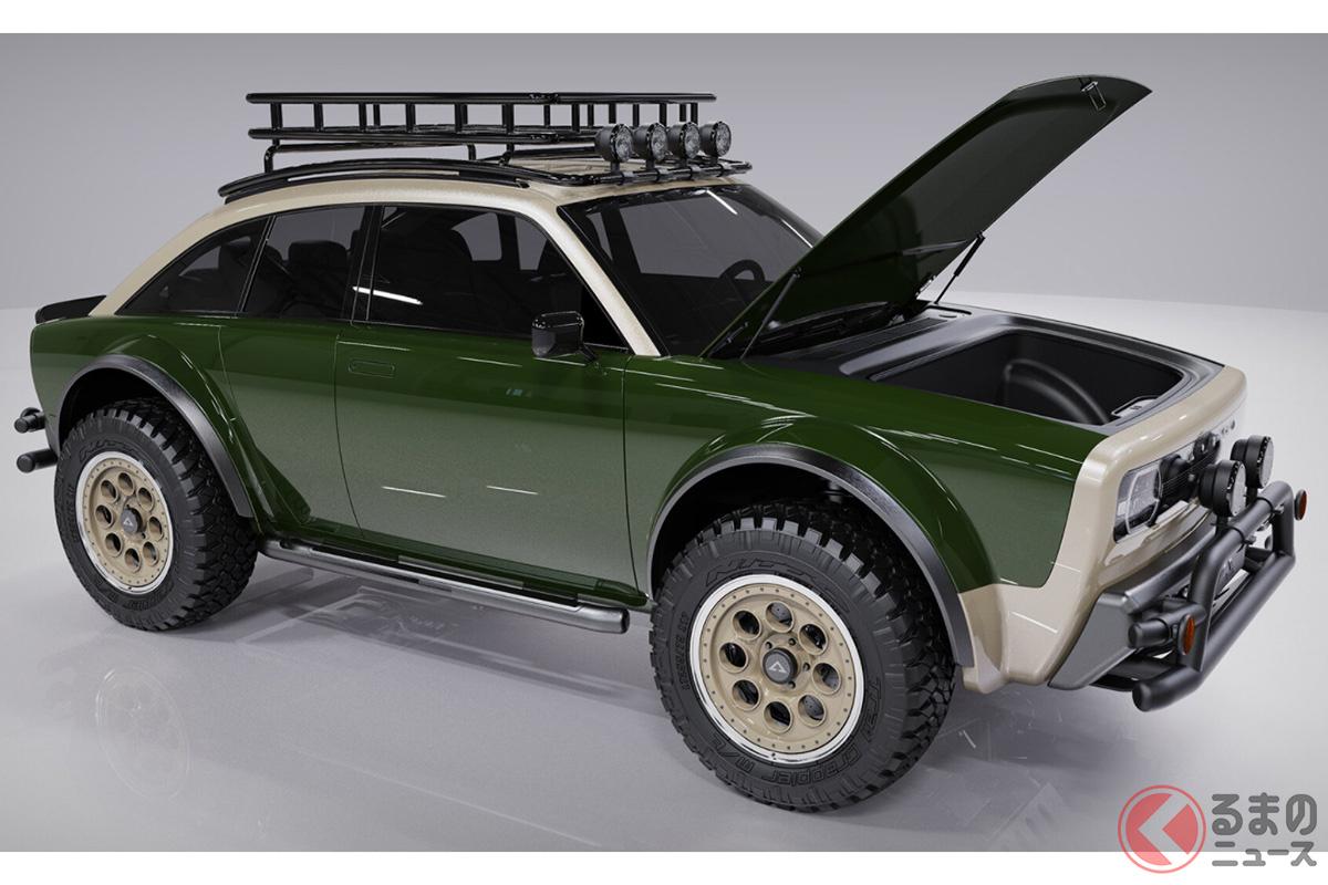 レトロなゴツすぎSUV発表! 迫力顔の新型EV「ジャックス」がカッコ良い