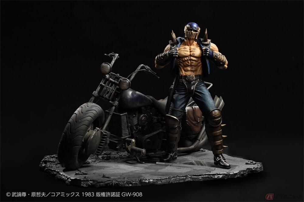 「北斗の拳」フィギュア第四弾予約開始 超リアルな「ジャギ バイクベース」が初登場!