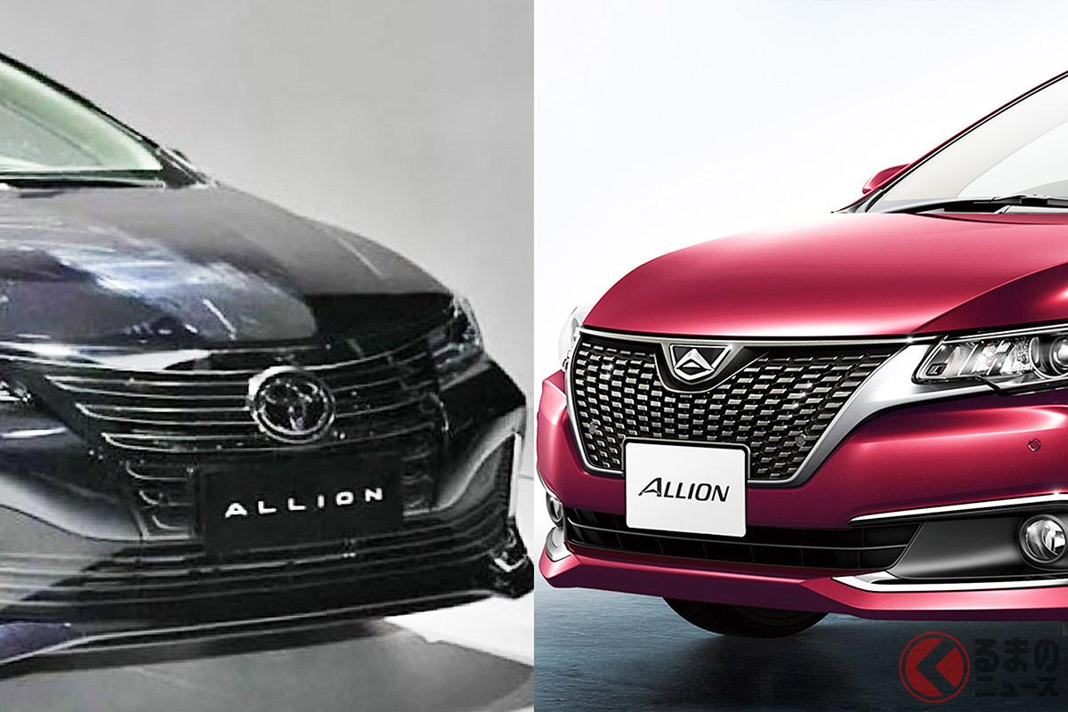 突如登場! トヨタ新型「アリオン」 日本の旧モデルとはどう違う? 同時発表「レビンGT」とは