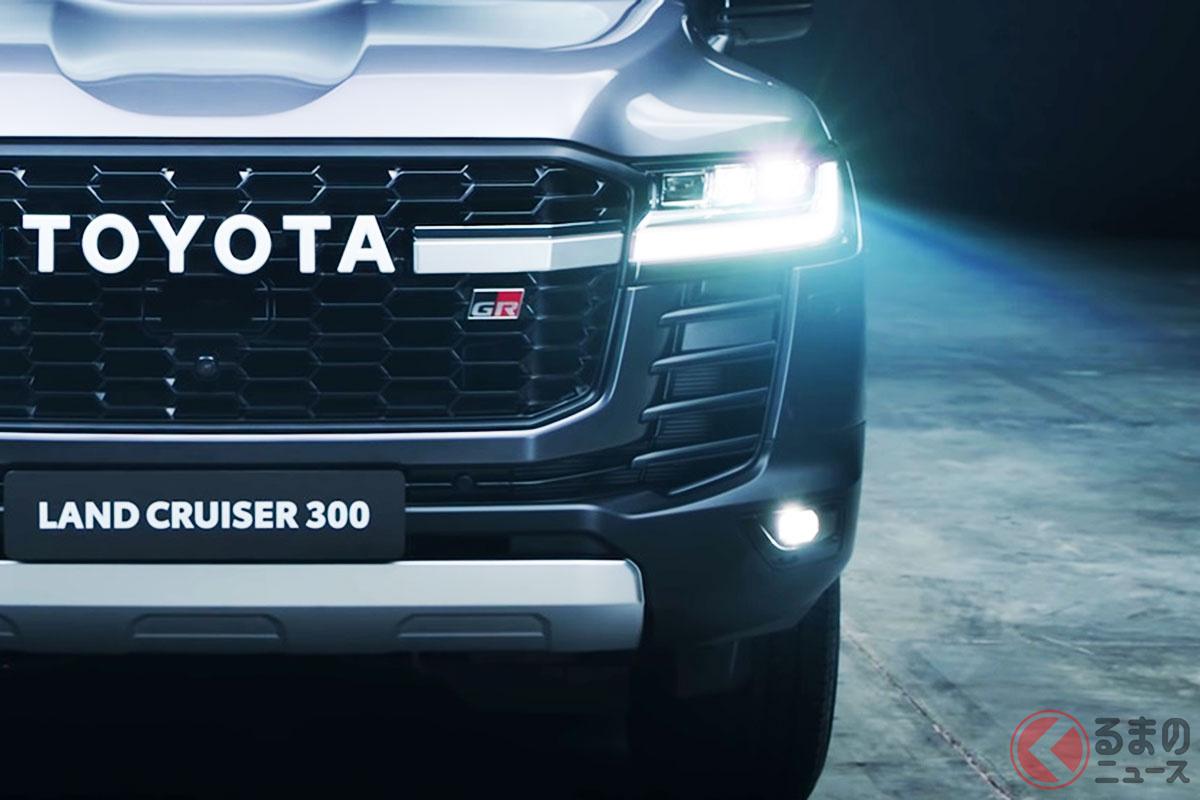 トヨタ新型「ランクルGR」は「超目立つ」ド迫力4WD!? 「TOYOTA」押し出した特別顔で圧巻