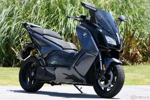 電動バイクは回生ブレーキで走りの面白さが広がる!? BMW「Cエボリューション」を検証する
