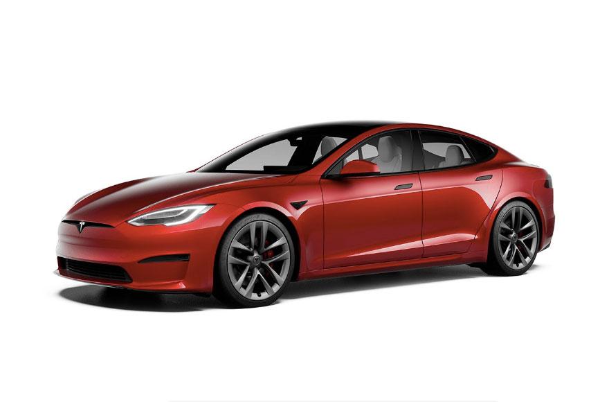 【EV図鑑】航続距離837km、0-100km/h加速2.1秒を誇るテスラのEVセダン「Model S」