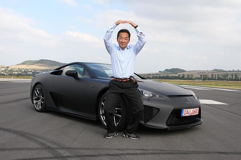 LFA プロトタイプに試乗 国産スーパースポーツ!