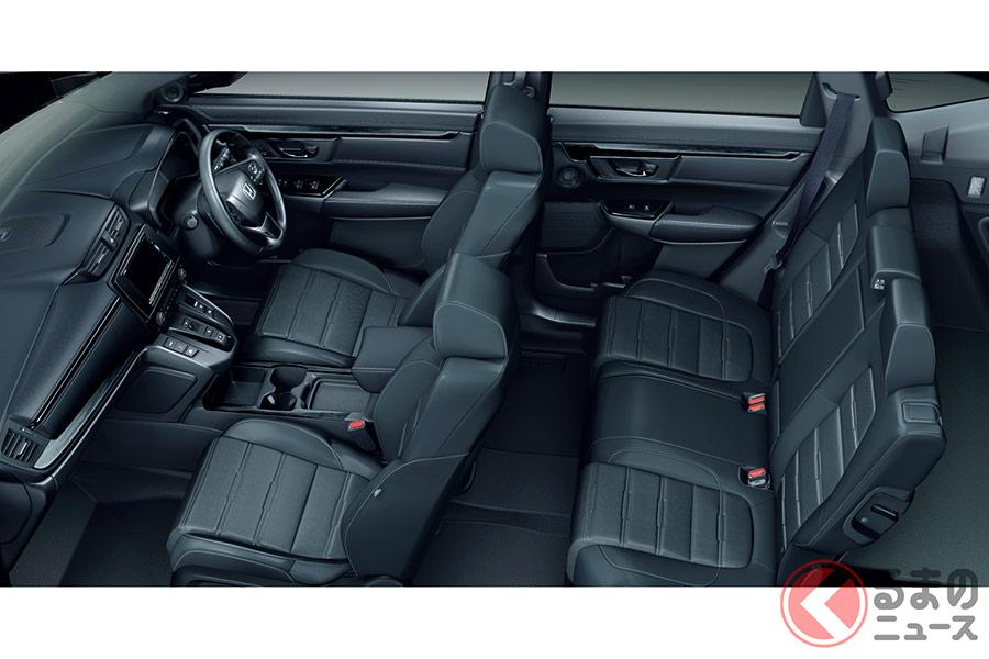 黒く輝く新型SUV発表! ホンダ新型「CR-Vブラックエディション」 カッコイイ仕様がタイで登場