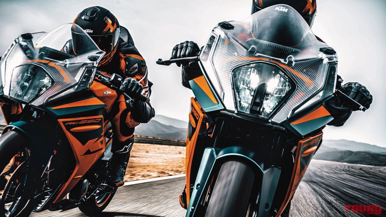 KTM「RC390」がフルモデルチェンジ! スタイリング一新&骨格の軽量化も達成