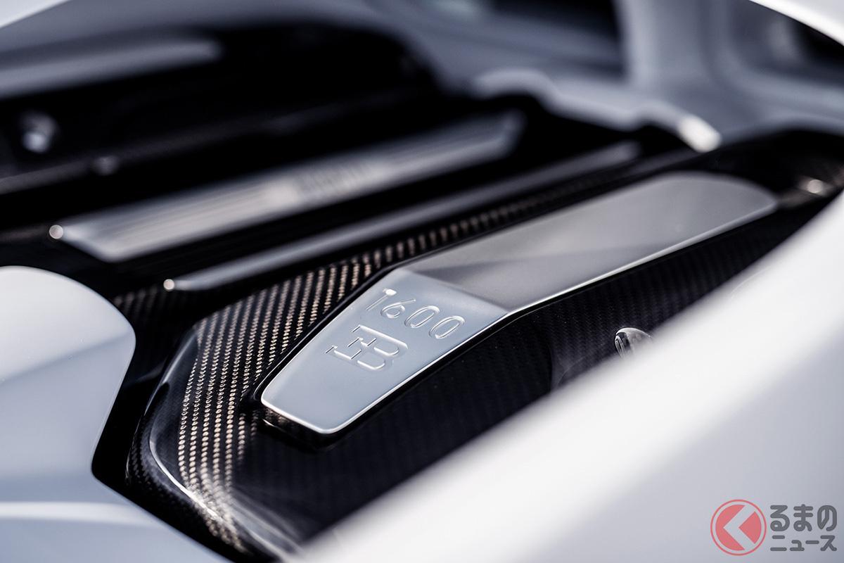 4億3000万円から! 最高速度490キロのブガッティ「シロン・スーパースポーツ」が30台限定で発売決定