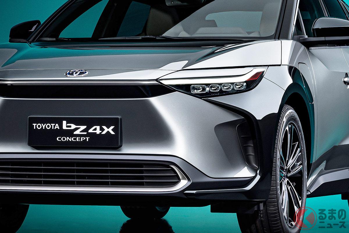 斬新デザインのトヨタ新型「bZ4X」と違いは何? スバル新型「ソルテラ」に求める「らしさ」とはどんなもの?