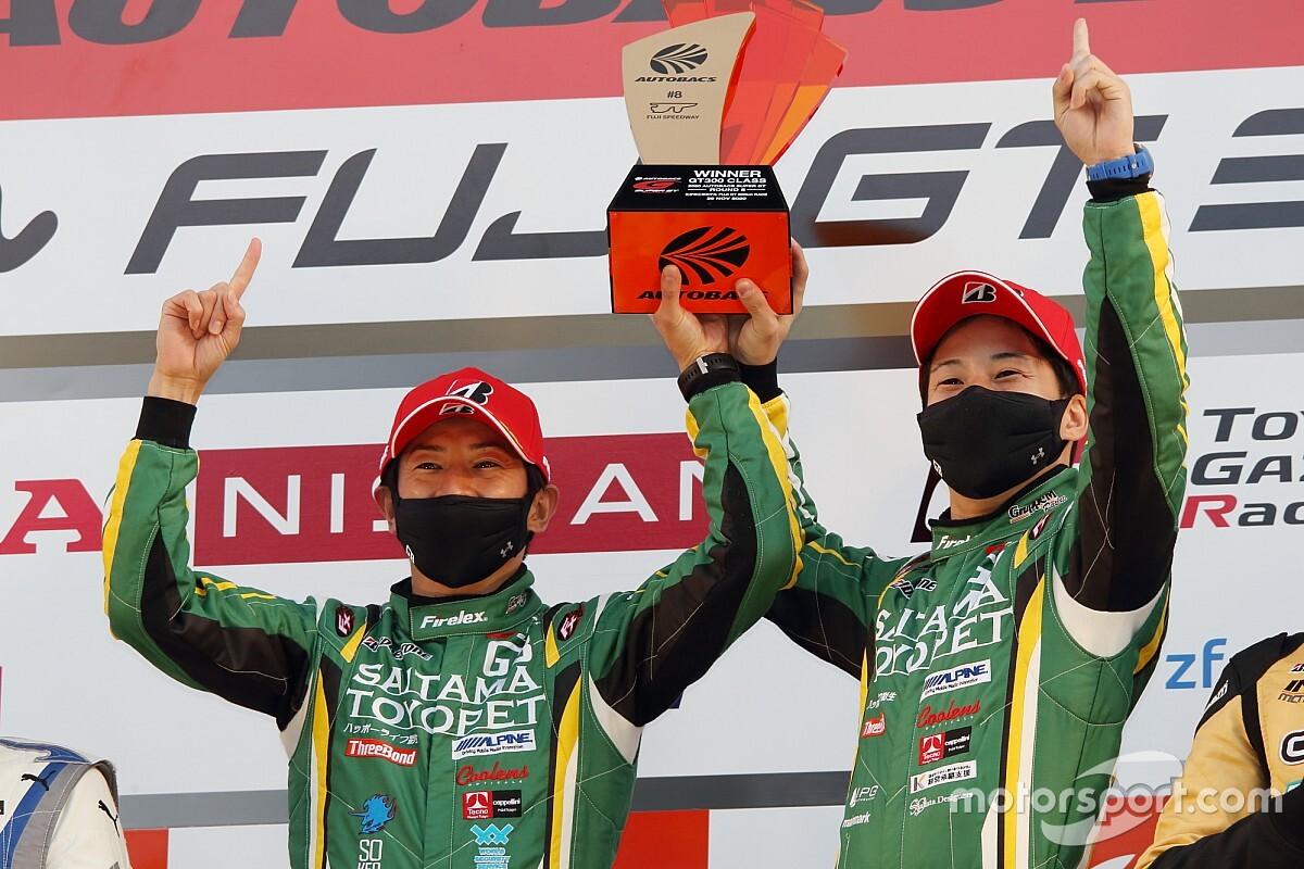 埼玉トヨペットが今季2勝目。しかし56号車リアライズが2位獲得で今季王者に輝く|GT300第8戦富士決勝