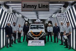【世界的人気を受けて】スズキ、インドでジムニーの生産・輸出を開始