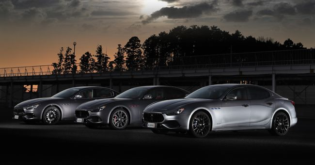 マセラティ初のハイブリッドモデル「ギブリ・ハイブリッド」とV8エンジン搭載のギブリ/クアトロポルテ「トロフェオ」が本年6月上旬より日本導入を開始