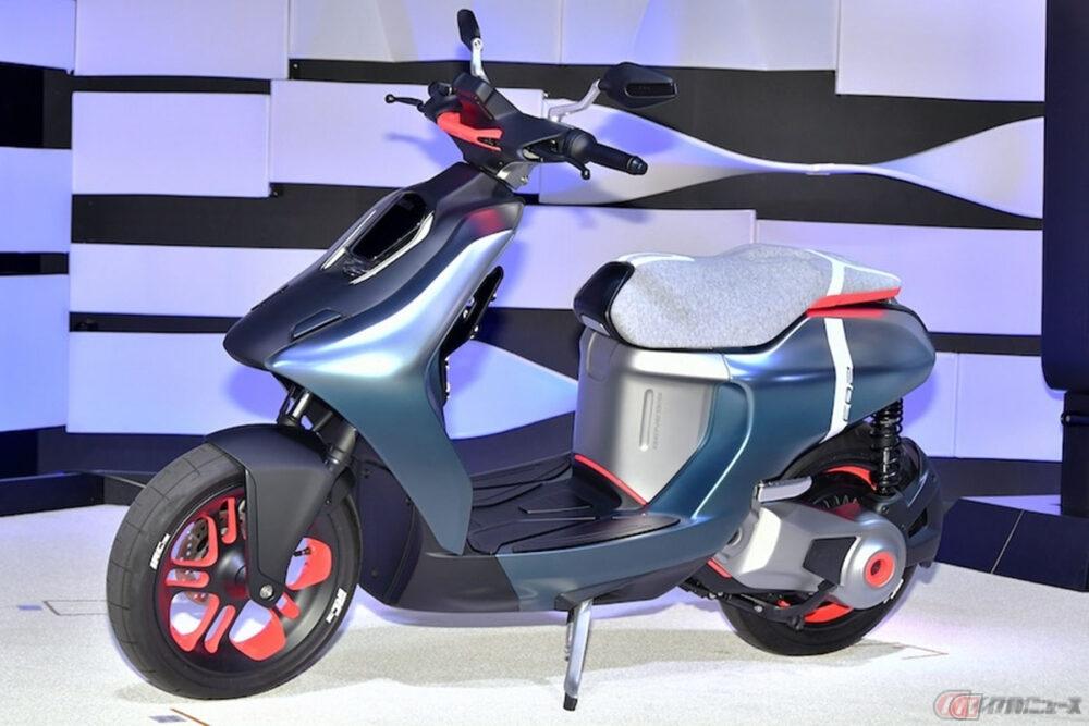 ヤマハが欧州での交換式バッテリーコンソーシアムの創設に合意 ホンダ・KTM・Piaggioと共に国際的な共通規格の取得を目指す