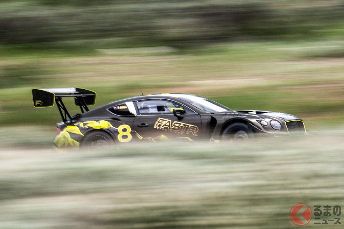 なぜベントレーは再生可能燃料でモータースポーツに挑戦するのか? 3冠を狙う「コンチネンタルGT3パイクスピーク」とは