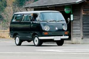 実働車として現存するのはこの1台だけ! 乗用デリカの歴史、ここに始まる!! コーチデラックス【T120C】