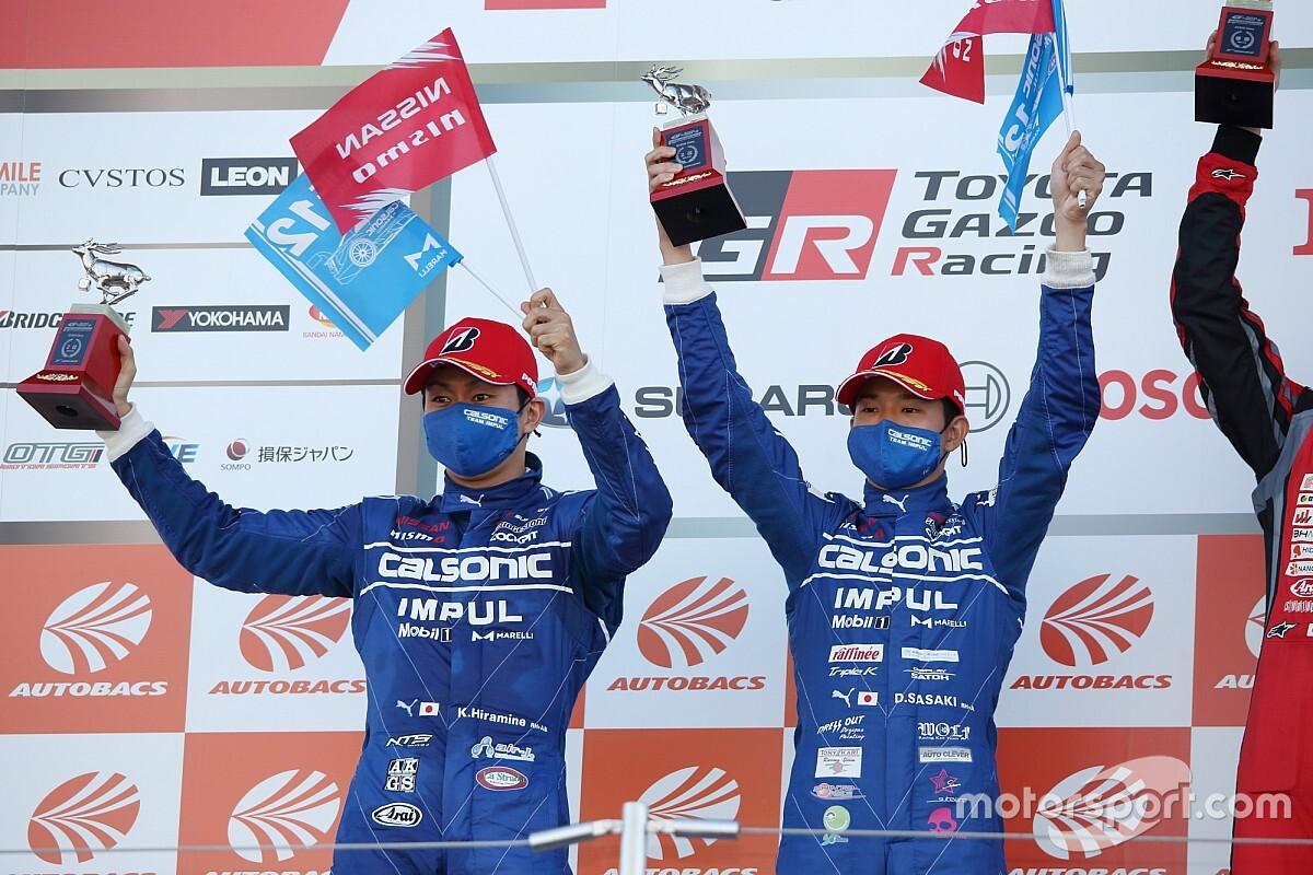 【スーパーGT】第6戦 鈴鹿|優勝に届かずも今季初の2位表彰台、12号車カルソニック IMPUL GT-Rの平峰一貴「これまでの悪い流れを断ち切れたと思う」