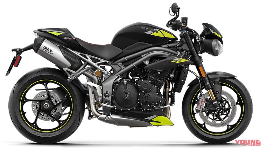 トライアンフ2021新車バイクラインナップ〈#1:ロードスター&スポーツ〉トライデント etc.