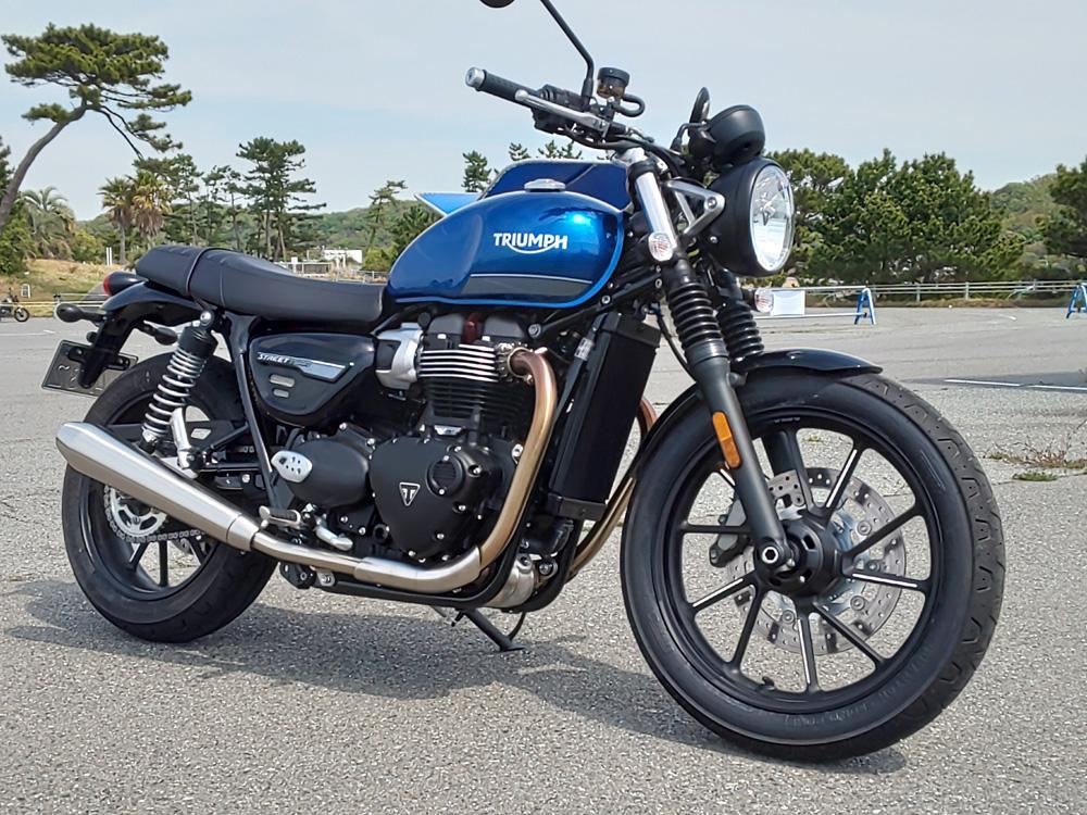 もう一度、風になりたい!ライダー復帰宣言に応えてくれるトライアンフのビッグバイク「ストリート・ツイン」
