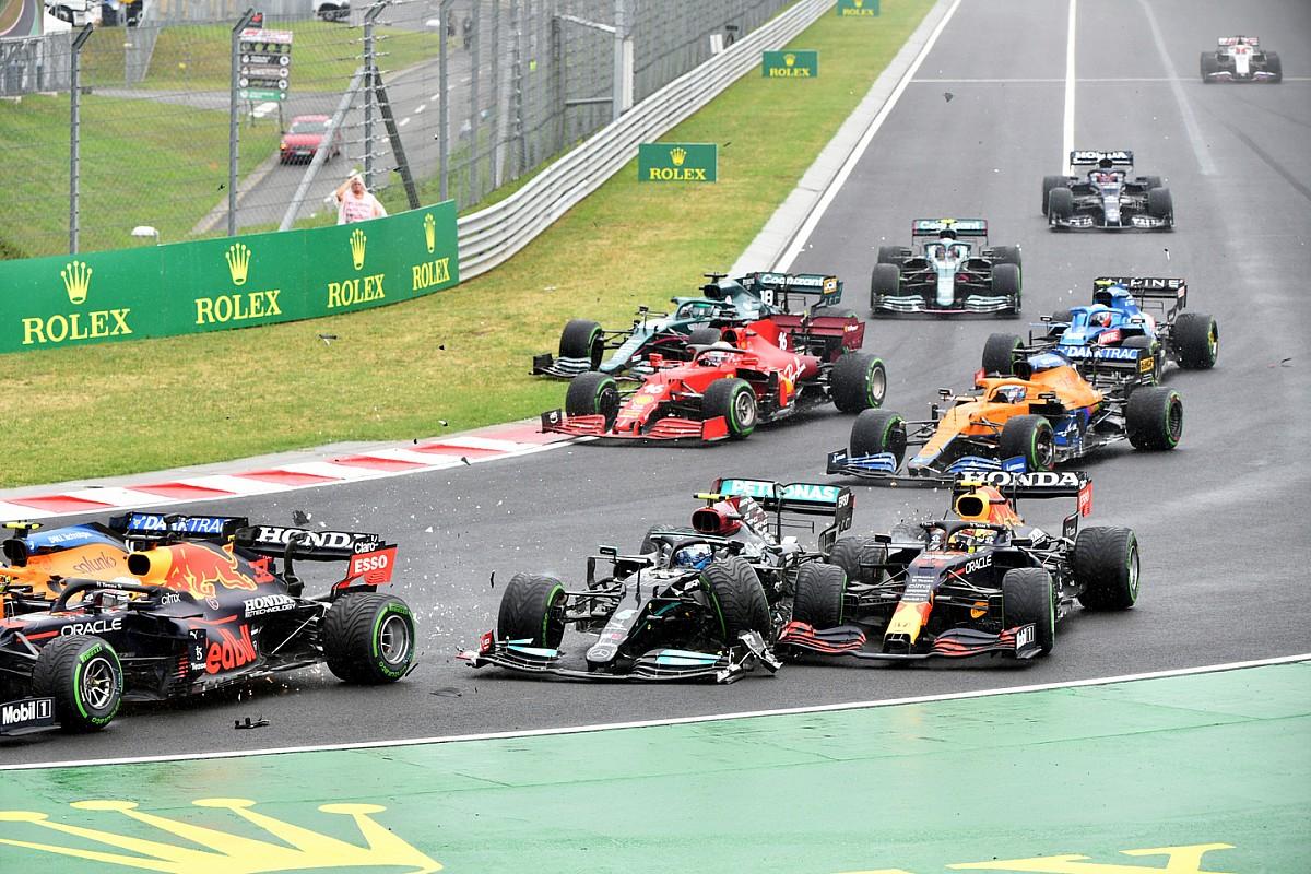 多重クラッシュ原因のボッタス「完全に僕の判断ミス」苦しい前半戦を象徴するレースに F1ハンガリーGP
