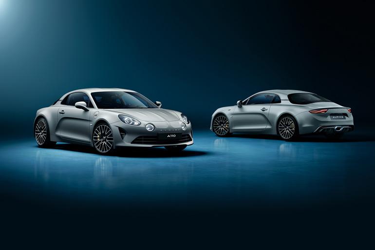 世界限定300台!専用のボディカラーや新デザインのホイールを装備したアルピーヌ「A110 リネージ GT 2021」