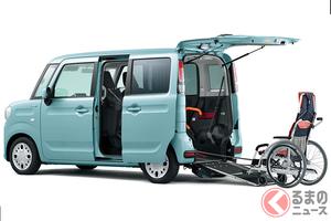 スズキ「スペーシア 車いす移動車」を一部改良! 介助者の負担をさらに軽減