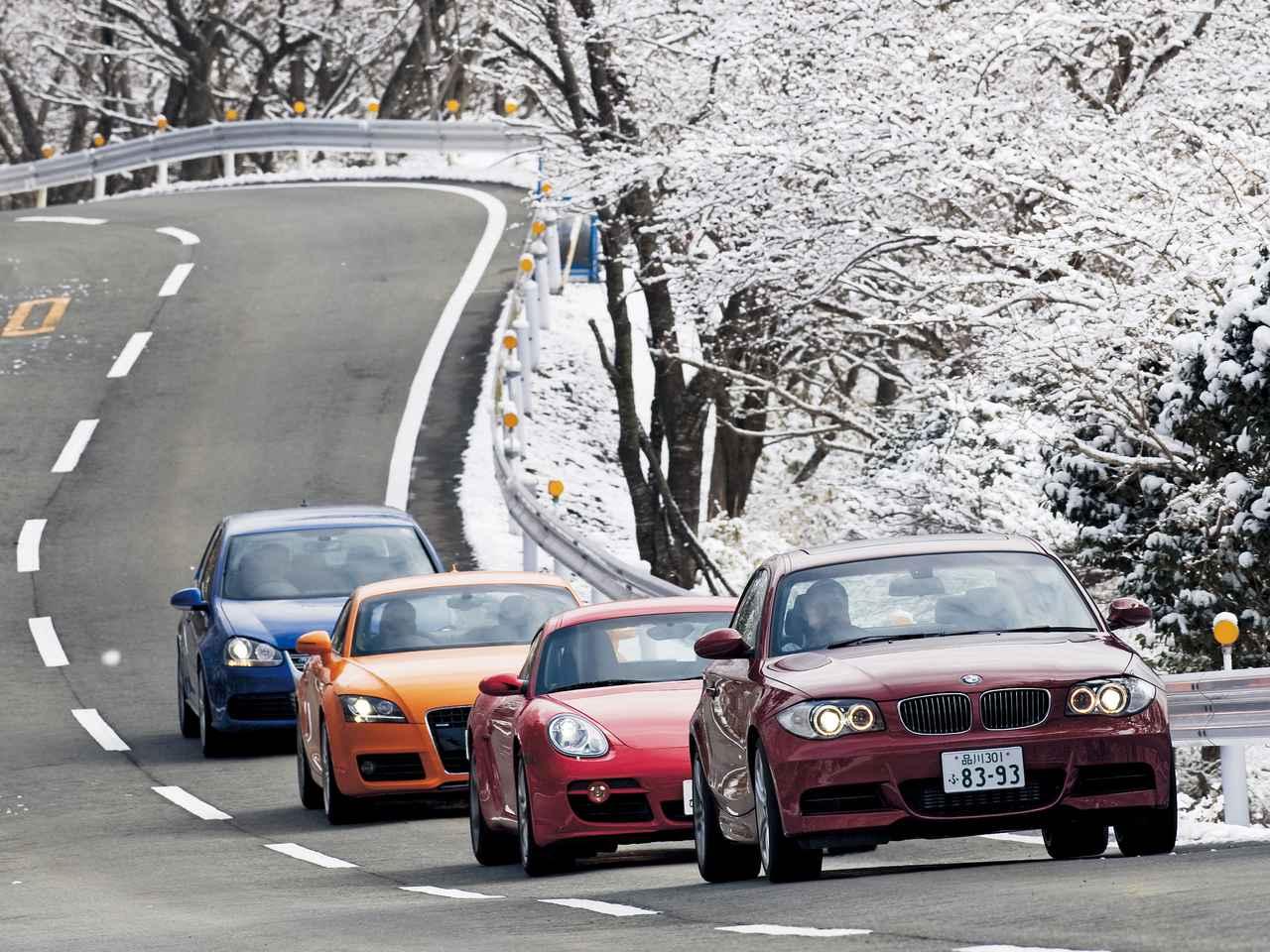 【ヒットの法則423】BMW135iクーぺとケイマンS/アウディTTクーペ/ゴルフR32を徹底比較してわかったこと!